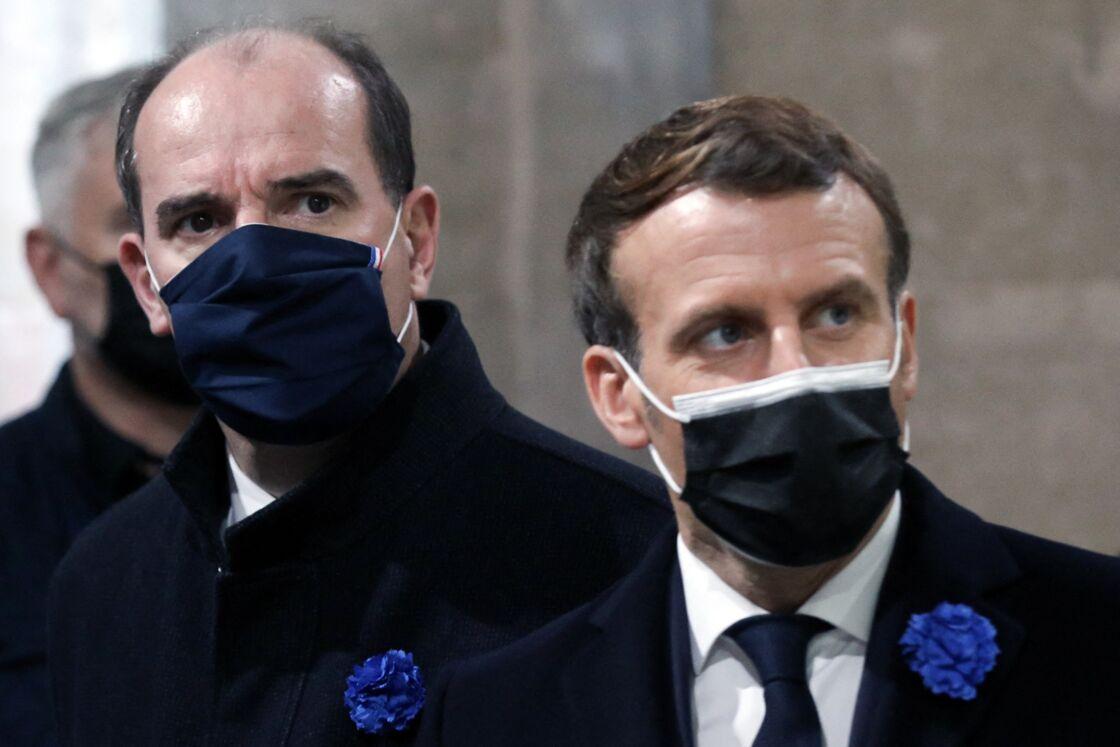 Jean Castex dans l'ombre d'Emmanuel Macron