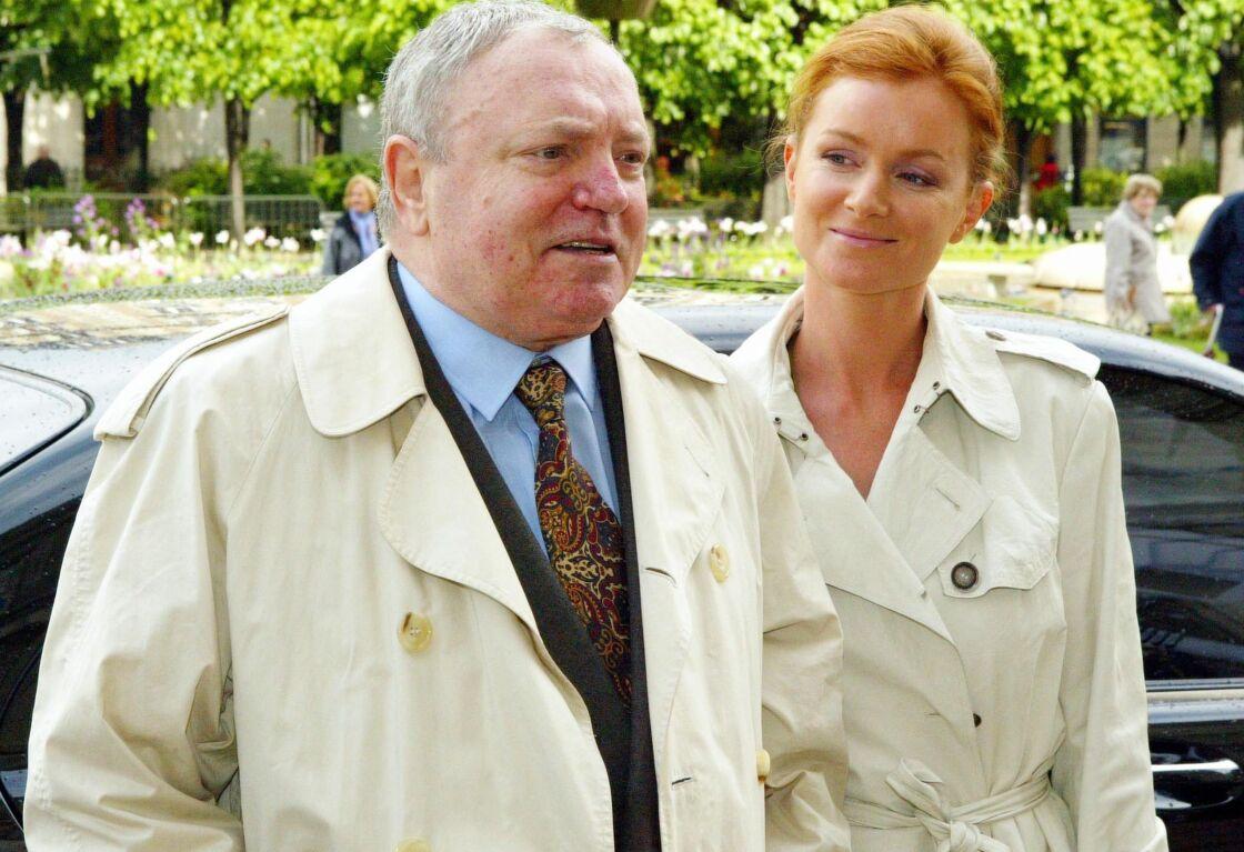 Jacques Martin et Céline, en 2004