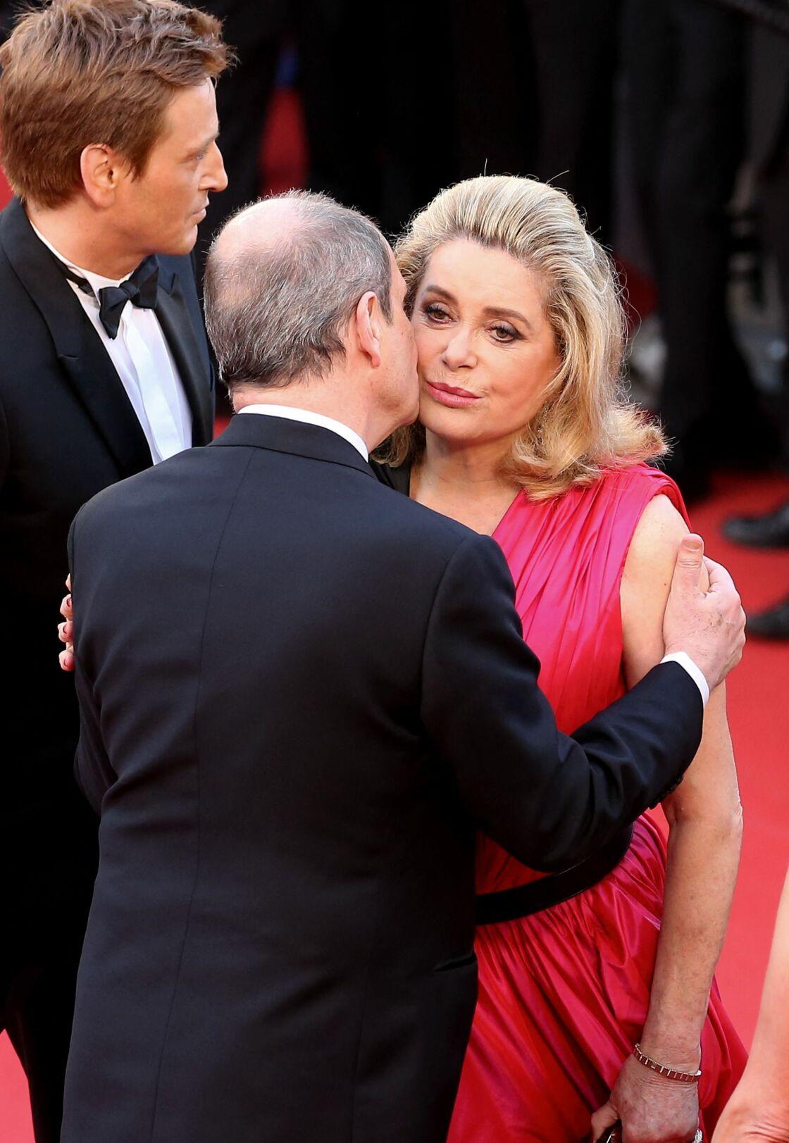 Pierre Lescure et Catherine Deneuve se retrouvent à Cannes