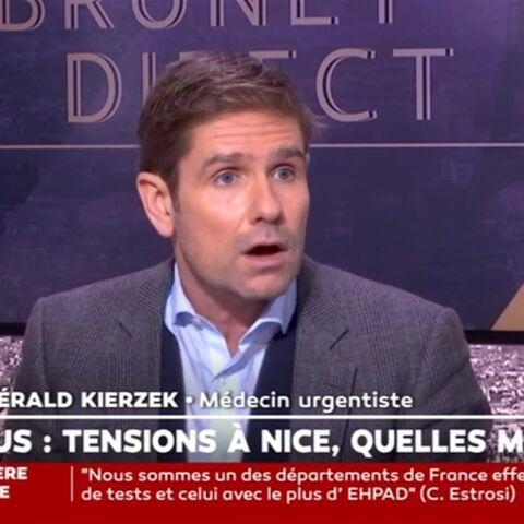 «Le coronavirus, ce n'est pas la peste»: le Dr. Gérald Kierzek s'agace sur le passeport vaccinal