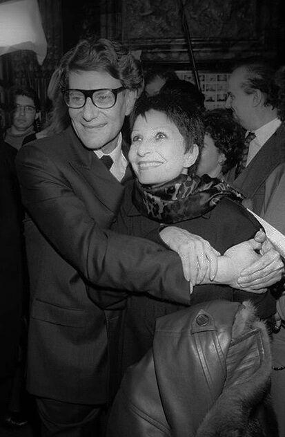L'amitié entre le couturier et Zizi Jeanmaire durera plusieurs décennies.