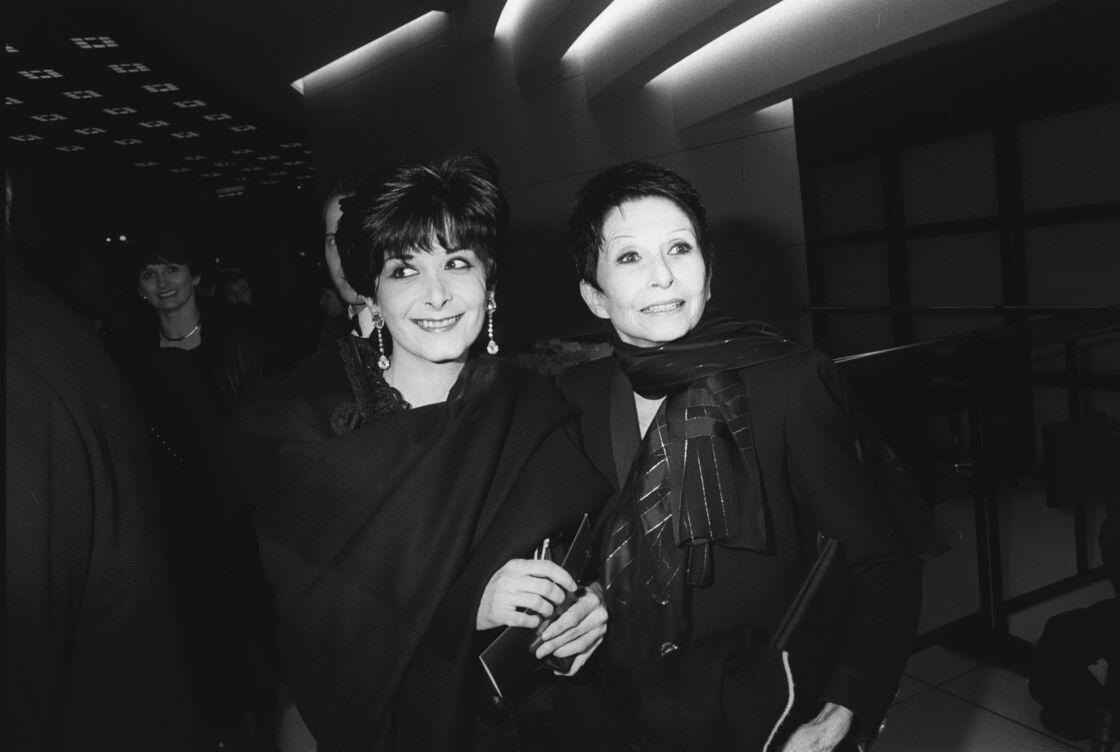 Zizi Jeanmaire et sa fille Valentine en 1992.