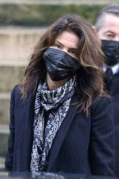 Juliette, l'ex-femme d'Alexandre Brasseur, assiste aux obsèques de Claude Brasseur