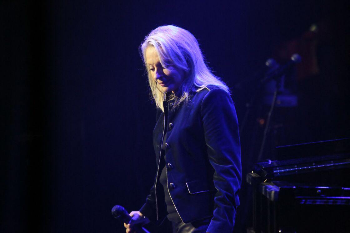 Véronique Sanson aux Folies Bergère, à Paris, le 3 novembre 2016