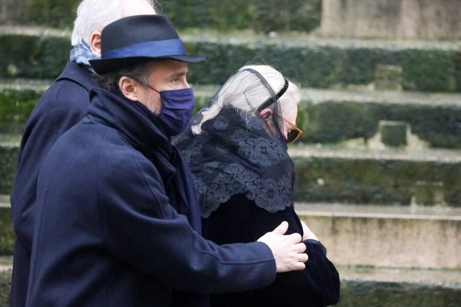 Alexandre Brasseur aux côtés de sa mère, Michèle Cambon- Brasseur