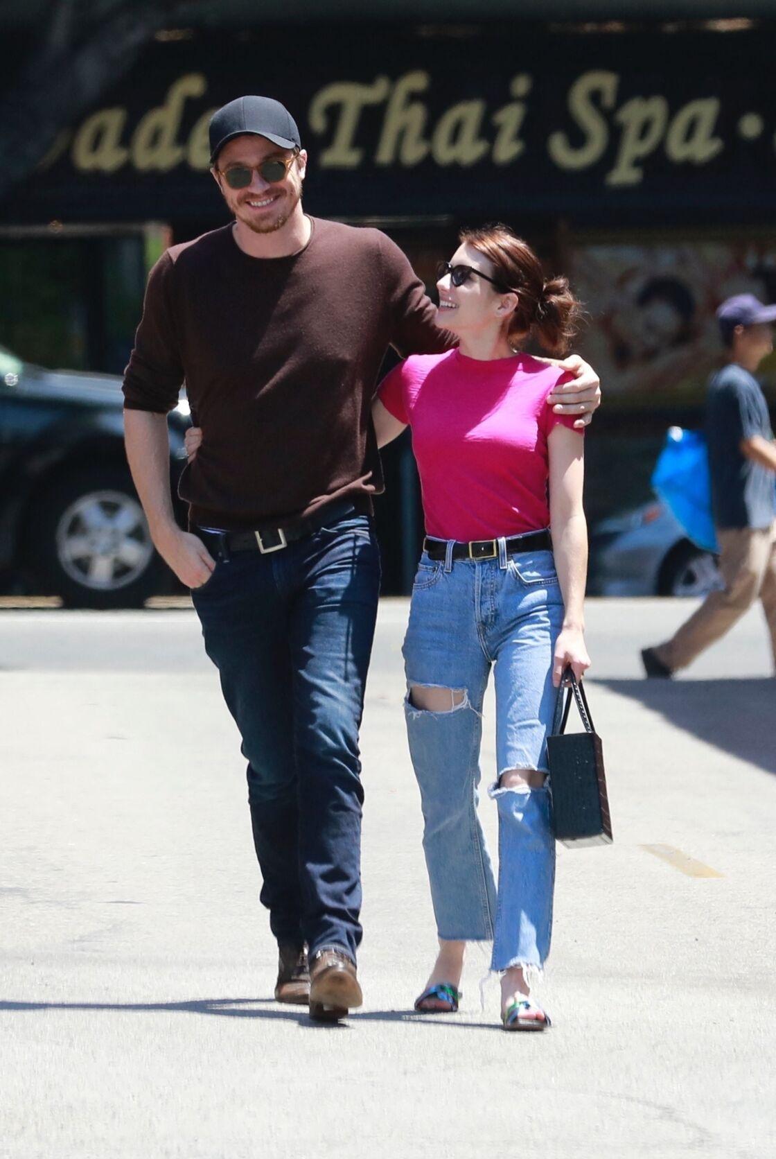 Emma Roberts et Garrett Hedlund en août 2019