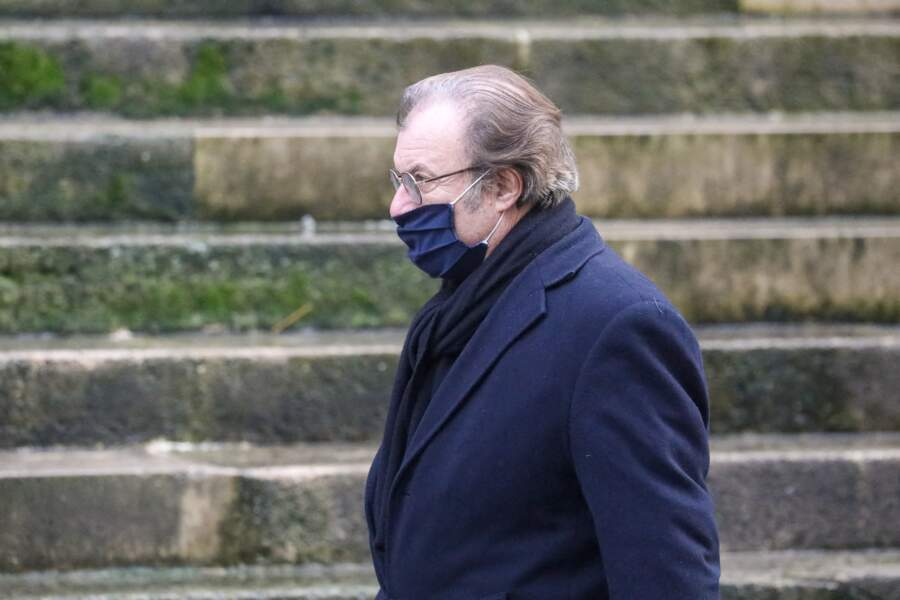 L'acteur Daniel Russo venu rendre un dernier hommage à son ami Claude Brasseur