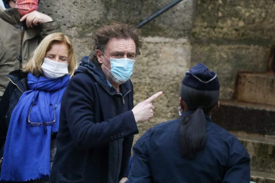 Le comédien Jean-Paul Rouve compte également parmi les invités aux obsèques de Claude Brasseur