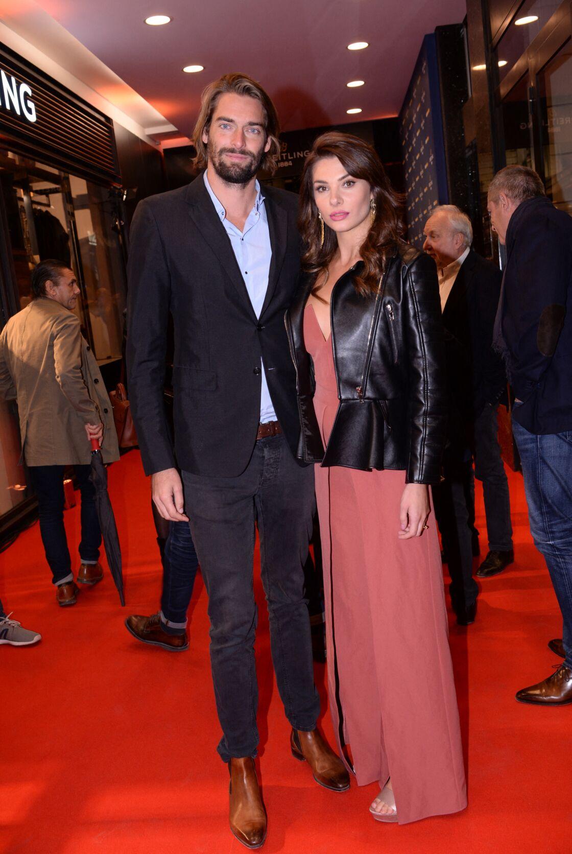 Camille Lacourt et Alice Detollenaere le 3 octobre 2019