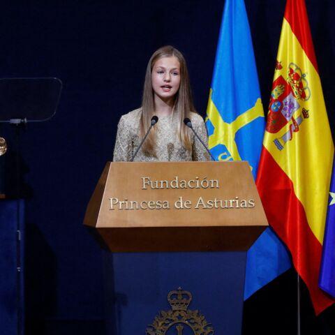 PHOTOS – Letizia d'Espagne: à 15 ans, sa fille Leonor marche dans ses pas