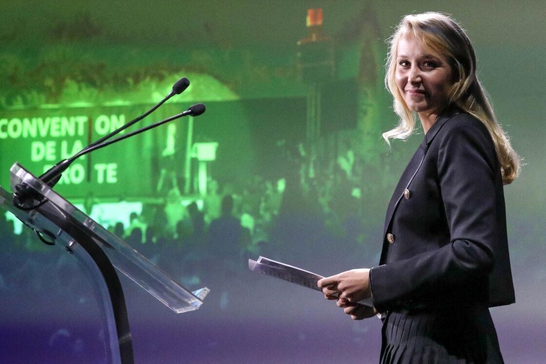 Marion Maréchal - Convention de la Droite à La Palmeraie, Paris, France, le 28 septembre 2019.