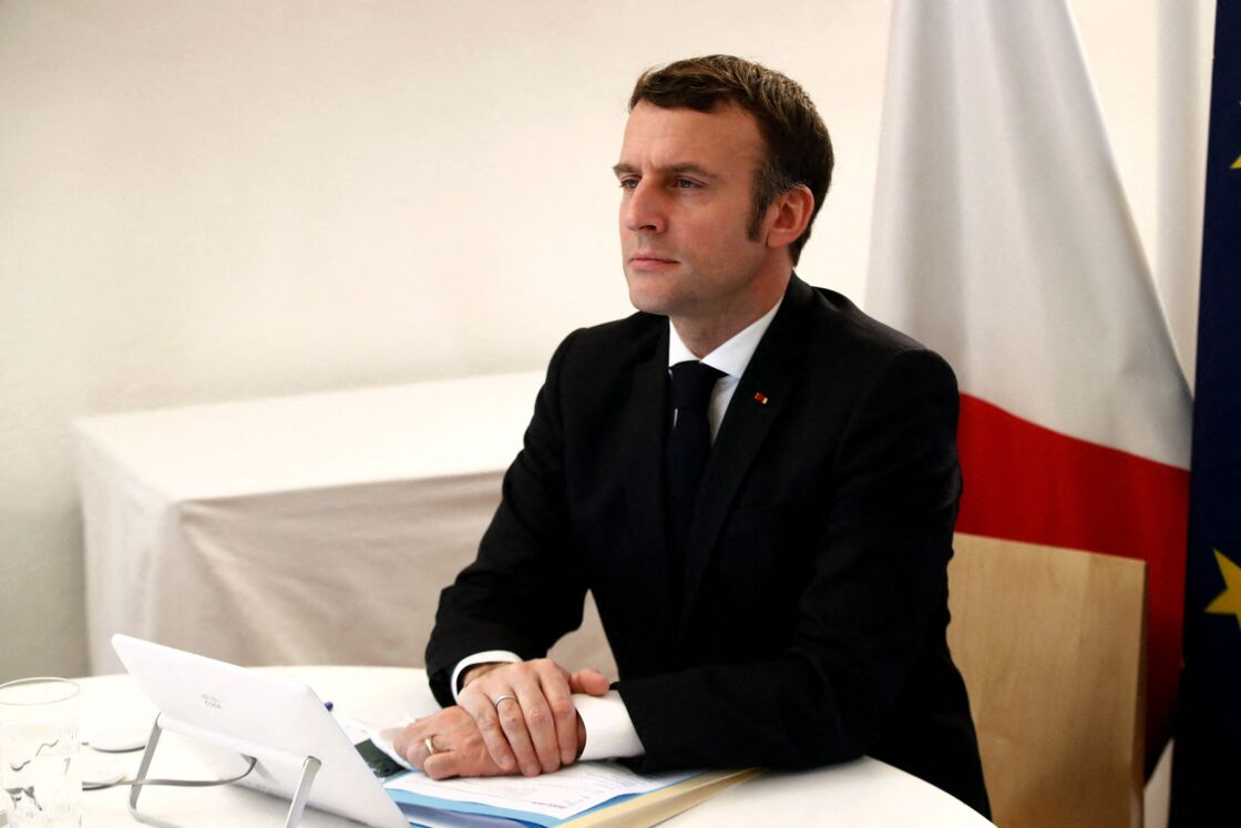 Emmanuel Macron, remis de son