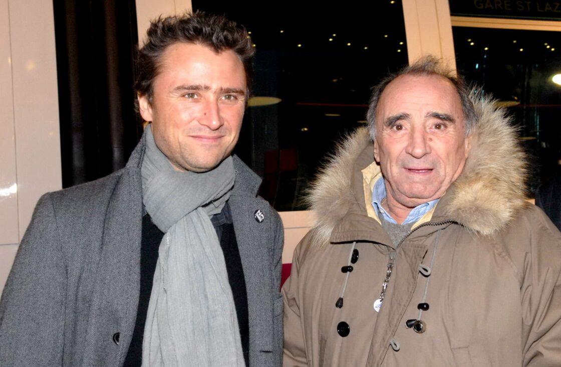Claude Brasseur et son fils Alexandre étaient liés par l'amour du métier d'acteur.