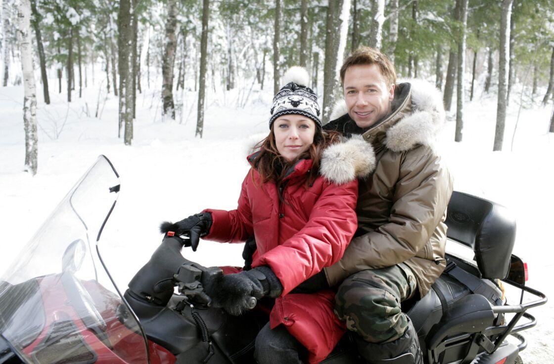 Isabelle Boulay et Stéphane Rousseau ont été en couple trois ans, de 2000 à 2003.