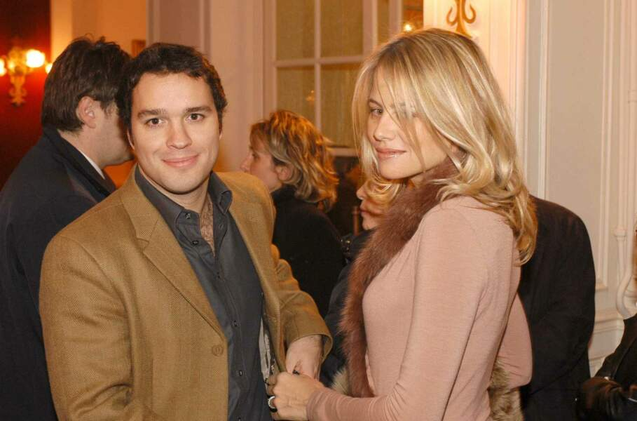 Laurent Tapie et son épouse, en mars 2004.