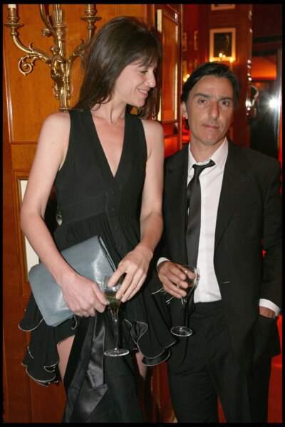 Charlotte Gainsbourg et Yvan Attal, aux César, en février 2010.