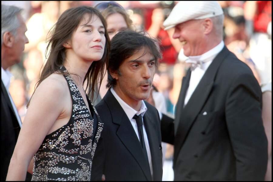 Charlotte Gainsbourg et Yavan Attal, à Cannes, lors de la montée des marches du film Coco Chanel et Igor Stravinsky, en 2009.