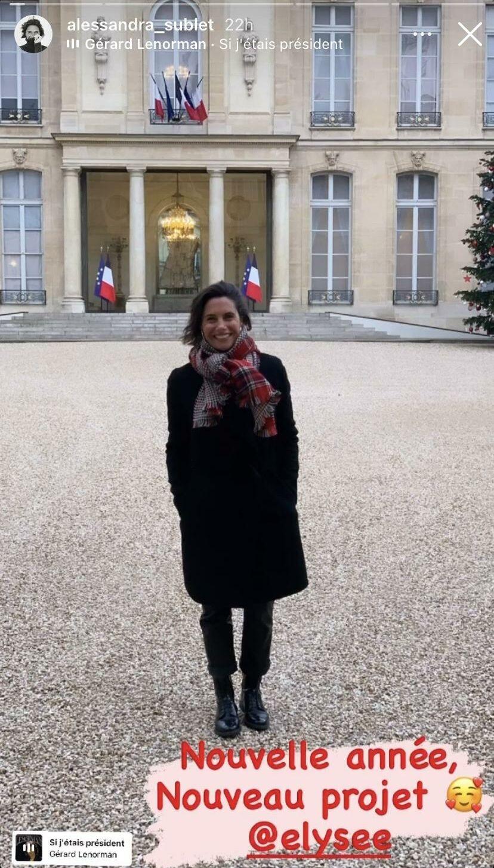 Ce mardi 5 janvier, alors qu'elle se rendait à l'Élysée pour un