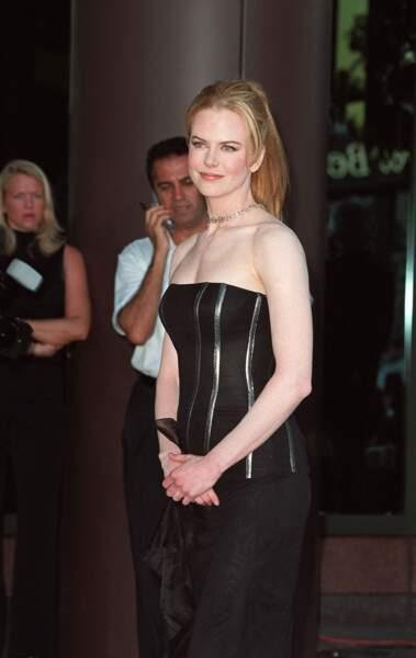 Nicole Kidman en août 2001