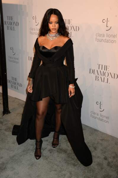 Rihanna à la soirée Diamond Ball, à New York, en septembre 2017.