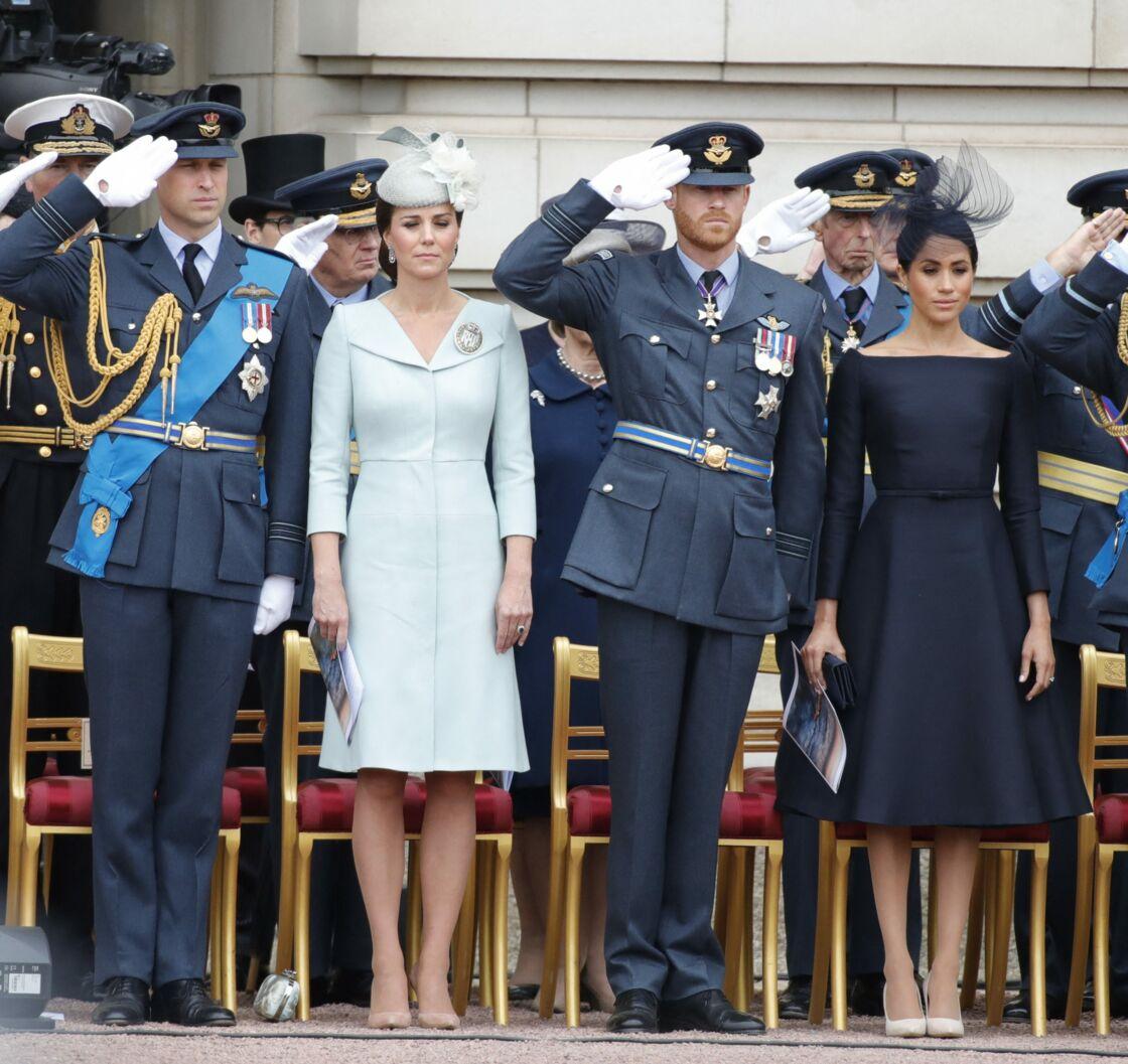 Si de première rumeurs affirment qu'une réconciliation est imminente, Meghan Markle et le prince Harry pourraient avoir le droit à des retrouvailles glaciales avec Kate Middleton et le prince William