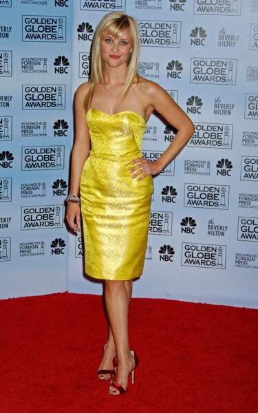 Reese Witherspoon, aux 64èmes Golden Globe Awards, en 2007.