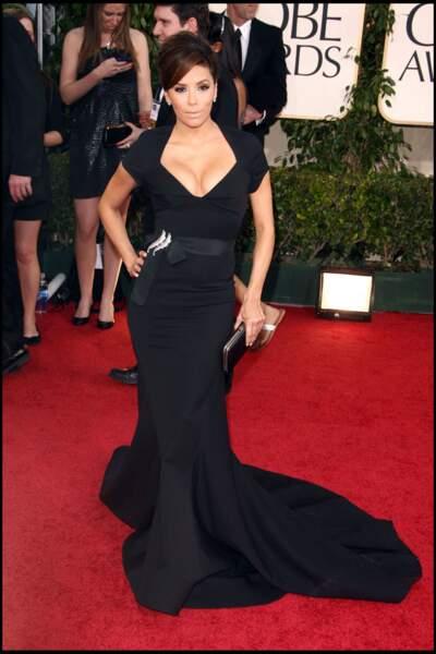 Eva Longoria, lors des 68èmes Golden Globes, à Beverly Hills, en 2011.