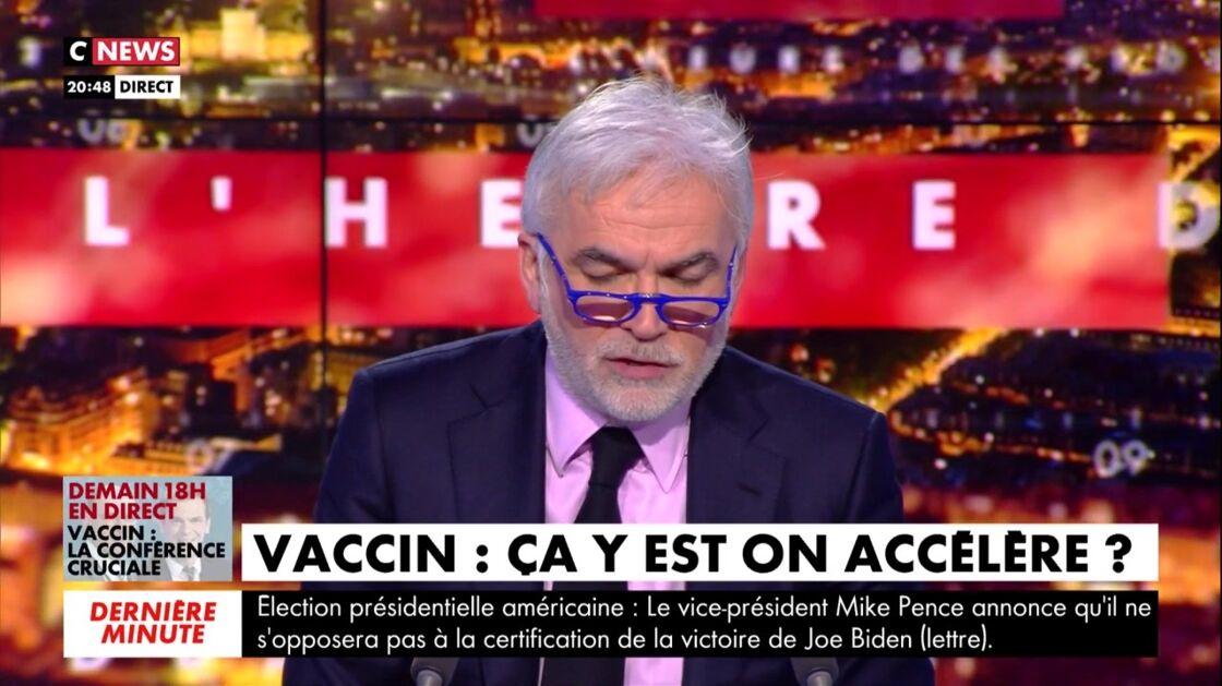 Pascal Praud dans L'heure des pros 2, mercredi 6 janvier 2021