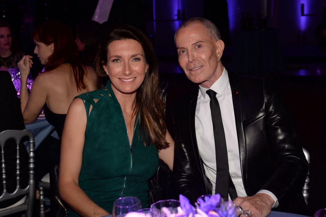 Jean-Claude Jitrois et son amie animatrice TF1 Anne-Claire Coudray