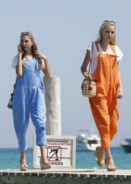 Maria-Carolina et Maria-Chiara se passionnent pour la mer