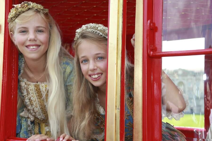 Maria-Carolina et Maria-Chiara vivent dans trois pays