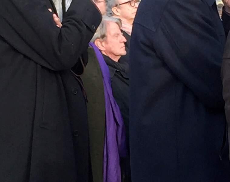 Bernard Kouchner aux obsèques d'Evelyne Pisier
