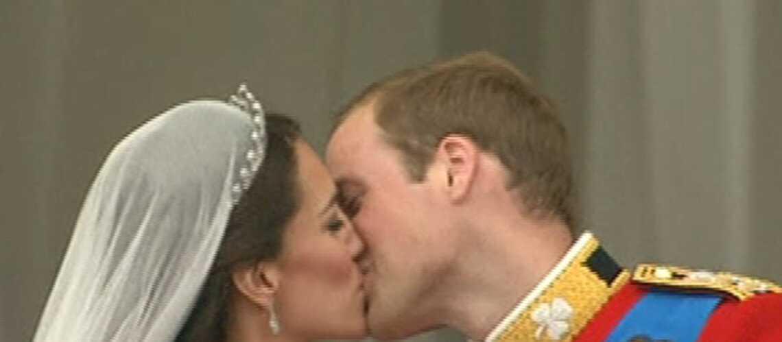 Vidéo – Kate et William: le premier baiser du couple!