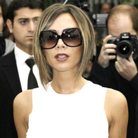 Champagne pour Victoria Beckham!