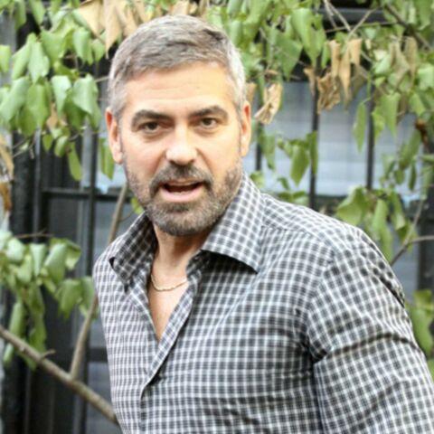 George Clooney prend la mouche!
