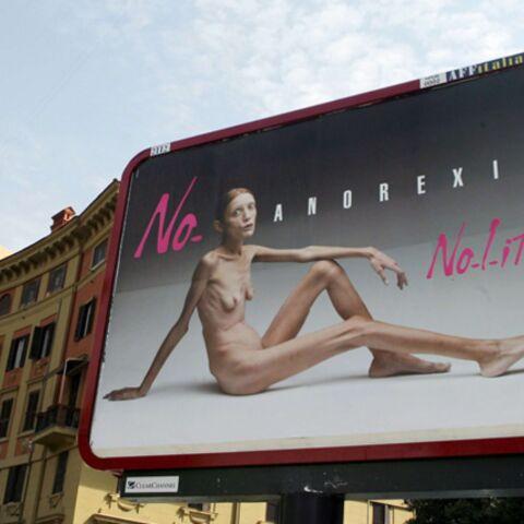 Oliviero Toscani: ses nouvelles images choc contre l'anorexie