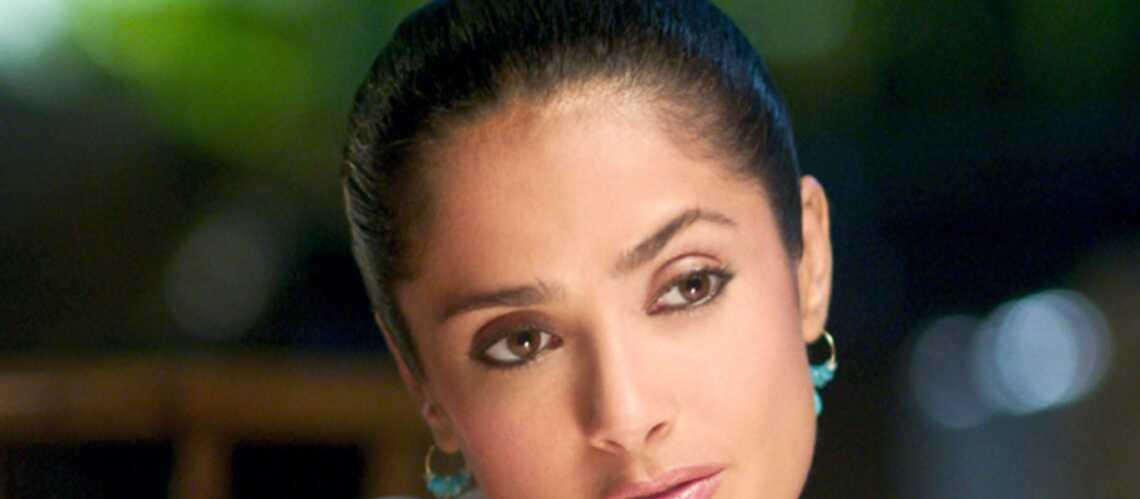 Salma Hayek n'a pas fermé l'œil depuis six mois!