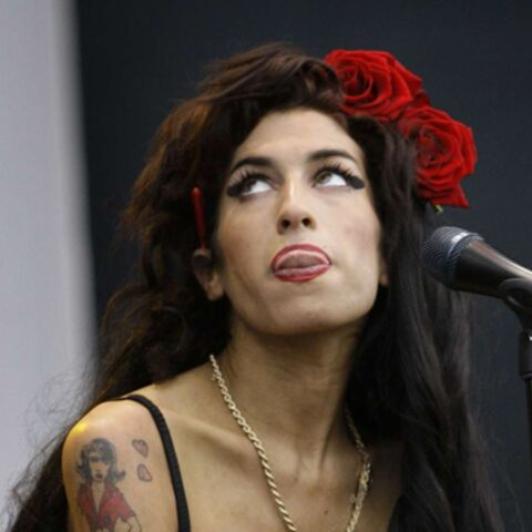 Amy Winehouse plus près de son mari