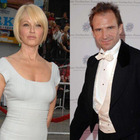 Ralph Fiennes et Ellen Barkin ensemble!
