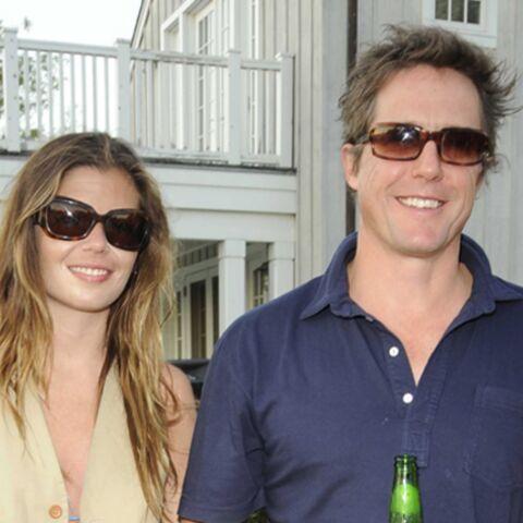 Hugh Grant avec une jeunette?
