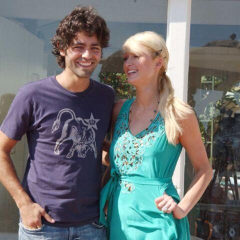 Paris Hilton et Adrian Grenier
