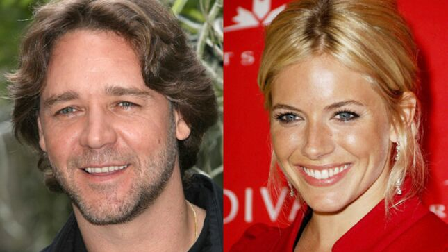 Russell Crowe et Sienna Miller se mettent au travail dba3b0268ff