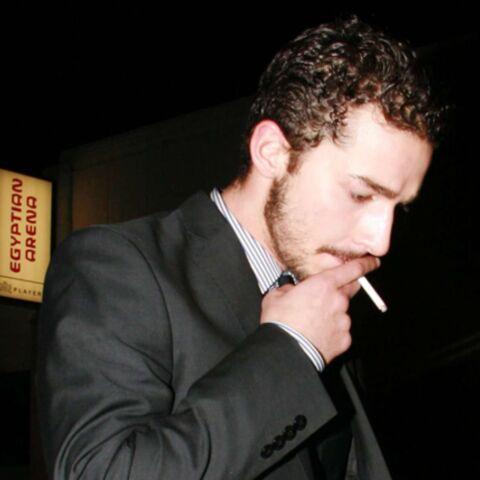 Shia LaBeouf devant la justice pour une cigarette!