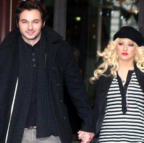 Christina Aguilera fiancée et enceinte