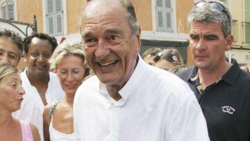 Jacques Chirac privé de Saint-Tropez