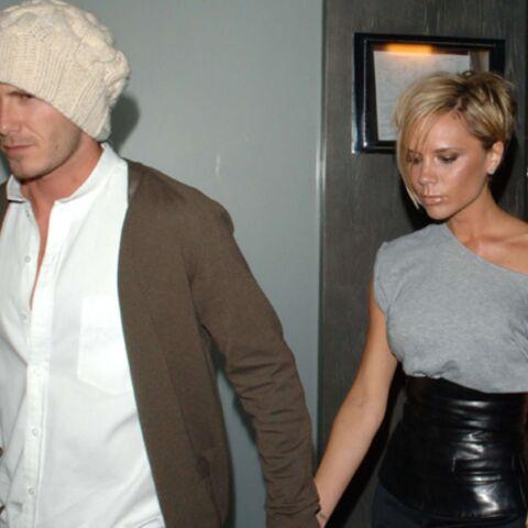 Les époux Beckham victimes d'un accident de voiture
