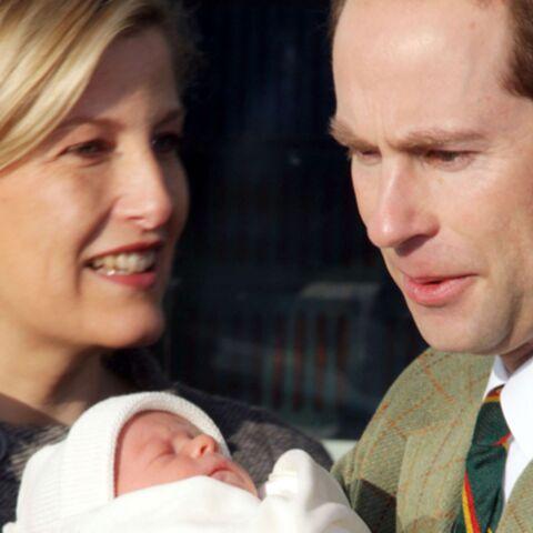 Le prince Edward et Sophie ont fait baptiser le petit James