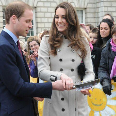 Kate et William mettent la main à la pâte