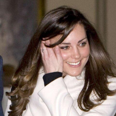 Kate Middleton complétement à sec!