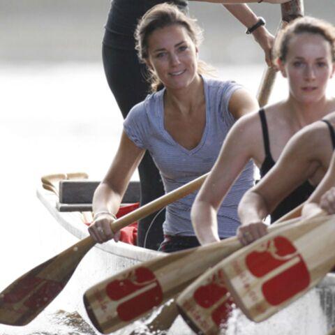 Kate Middleton va traverser la manche à la rame!